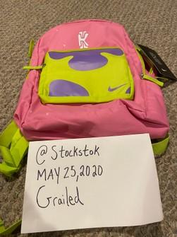 Acurrucarse Transparente nadie  Nike Nike Kyrie X Spongebob Patrick Star Backpack Lotus Pink | Grailed