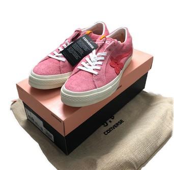 Converse Golf Le Fleur X Converse One Star Ox Pink Grailed