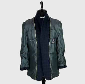 Austin Reed Austin Reed Blue Wool Plaid Blazer Coat Jacket 4or Grailed