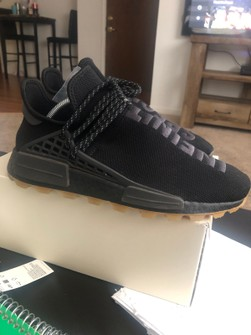 Adidas Pharrel Nmd Now Is Her Time Black Gum Grailed