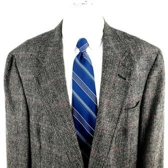 Austin Reed Austin Reed 44l 2 Button Tweed Check Wool Blazer Grailed