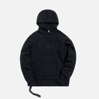 NEW Kith X Off-White Just Global Hoodie Black Sz XS XSmall