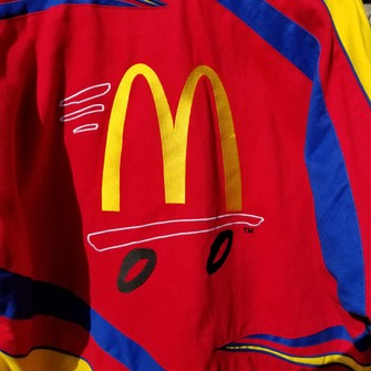 Travis Scott Vintage Mcdonald S Nascar Jacket Grailed