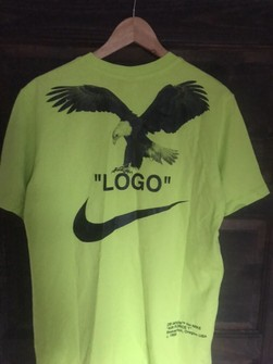 nike shirt with lime green
