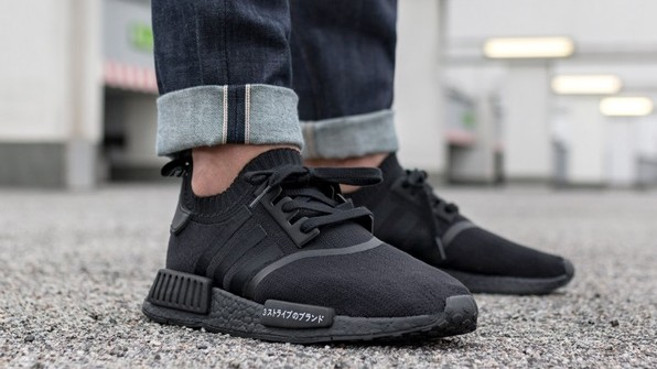 Adidas Nmd R1 Japan Triple Black Grailed