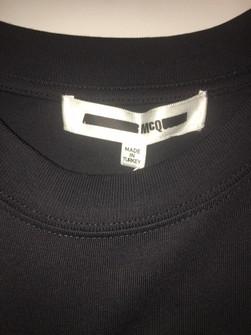 alexander mcqueen mcq swallow logo tee grailed grailed