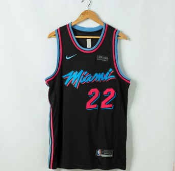 Nike Jimmy Butler Miami Heat Vice City Edition Jersey Grailed