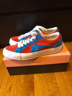 Converse Golf Le Fleur Red Blue Size 9 5 Grailed