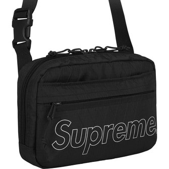 Brand New In Plastic Ready To Ship Supreme Shoulder Bag Black FW18