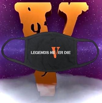Vlone Juice Wrld X Vlone Legends Never Die Face Mask Grailed