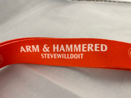 Full Send By Nelk Boys Arm And Hammered Stevewilldoit Lanyard Grailed 4) are you sure that tomorrow steve (will be able to/can) do it alone? arm and hammered stevewilldoit lanyard