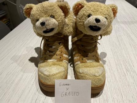 Comedia de enredo Babosa de mar Divertidísimo  Adidas Adidas X Jeremy Scott Teddy Bear | Grailed