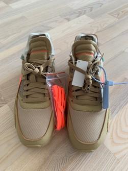 Nike Nike Off White Air Max 90 Desert Ore Us 9 Grailed