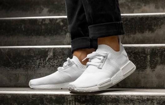 Adidas Nmd R1 Japan Triple White Grailed
