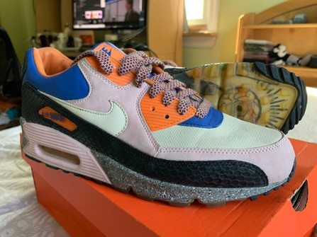 testigo Popular Automático  Nike Nike Air Max 90 King Of The Mountain Sz 10 | Grailed
