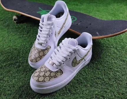 Nike Custom Gucci Air Force One Sizes 8 8 5 9 5 10 Grailed
