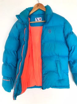 Brand Authentic K Swiss Down Jacket Warm Shield Winter Grailed