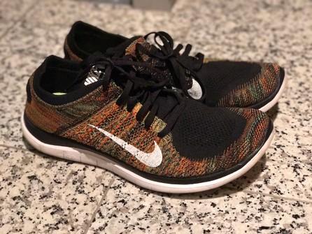 Nike Flyknit Runner Free 4 0 Multicolor Grailed