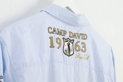 Camp David NCAA Ringleader Mens Short Sleeve Monocromatic Heathered Ringer Tee