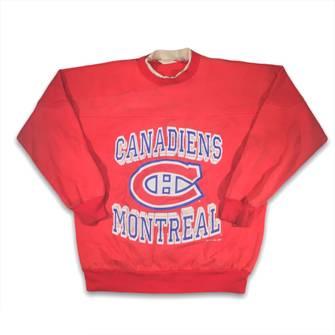 Vintage 1989 Montreal Canadiens Crewneck Sweatshirt  Vintage Habs