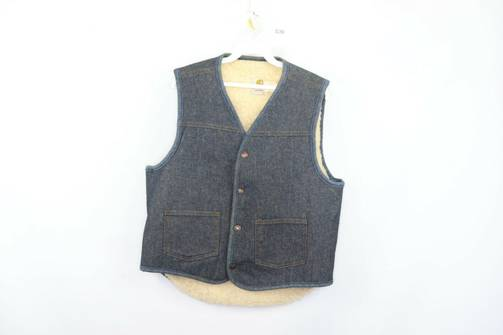 USA Womens Jean Vest Size Medium