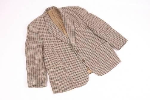 Vintage Austin Reed By Harris Tweed Plaid Check Wool Blazer Coat Grailed