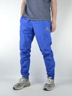 Vintage 90s Sergio Tacchini Nylon Joggers Track Pants 44 EU XL US White Blue