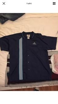 Adidas Vintage Adidas Bowling Jersey