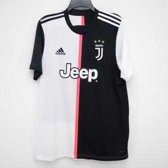 Adidas Juventus Jeep Colorblock Jersey Soccer Tee Size Large