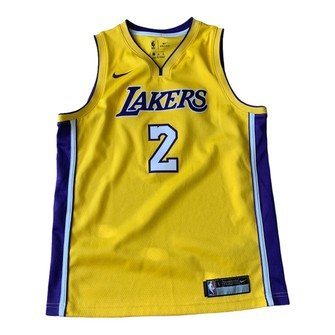 NBA Nike Alonzo Ball Los Angeles Lakers Jersey Youth L Men's M