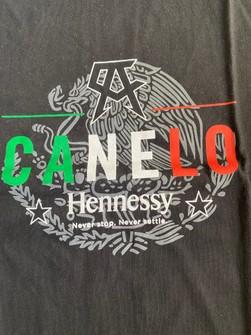 CANELO ALVAREZ HENNESSY T-SHIRT XTRA LARGE