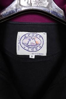 US M  EU 48-50  2 Vintage Iceberg Sweatshirt Embroided Ice Jean Iceberg sweatshirt Made Italy Size