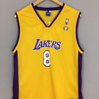 Vintage Kobe Bryant Laker #8 Champion Jersey Small