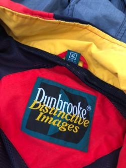 Dunbrooke Distinctive Images V neck DODGE Cotton mens Vintage sweater Size L