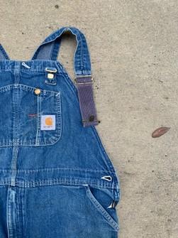 Vintage 90s Carhartt Inspired heavy duty paintersconstruction overalls