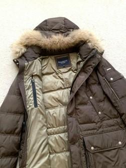 Hackett London Arctic Parka Fur Hombre