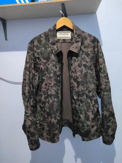 New Details about  /Onitsuka Tiger x Andrea Pompilio Men/'s Logo Bomber Jacket Beige