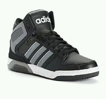 Adidas Adidas NEO BB9TIS size 7.5 Mid Top NEW IN BOX Black/Grey