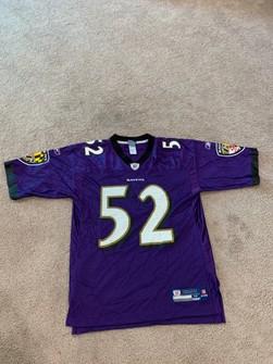 Reebok Baltimore Ravens - Ray Lewis #52 Authentic Jersey