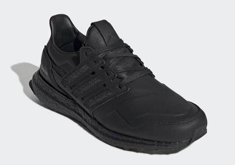 Adidas Black Leather Adidas Ultraboost NIB EF0901