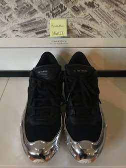 Raf Simons Raf Simons x Adidas Ozweego Mirrored Black