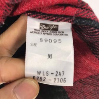 Vintage Wrangler shirt wool size M