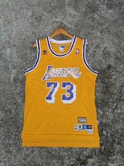 Adidas NBA DENNIS RODMAN LA Lakers Adidas Jersey