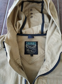 Vintage European Jacket Aigle Large