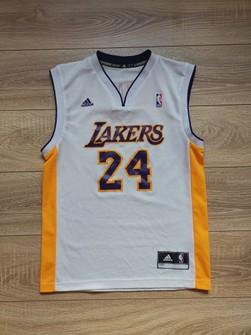 Adidas Adidas LA Lakers 12/13 #24 Kobe Bryant jersey white