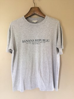 Vintage 90/'s Banana Republic Pink Shirt Size MED