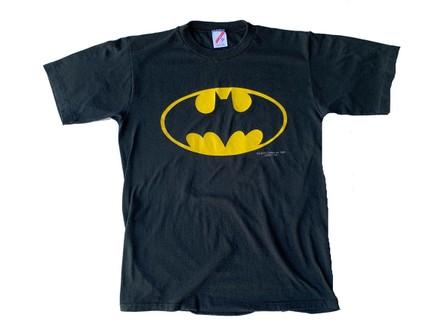 80s Batman Explosion Superhero t-shirt Youth Medium