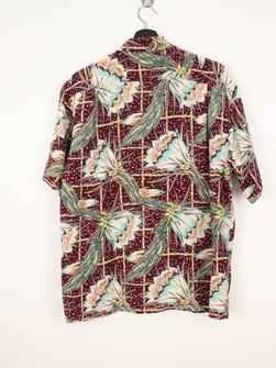 Vintage Sunsurf by Toyo Enterprise Rayon Toyo Button up hawaii aloha shirt L size