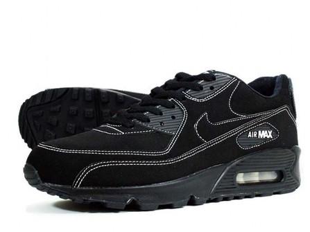 Nike Nike Air Max 90 Black White 11 Nubuck