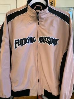 Fucking Awesome Pink Varsity Jacket Size L New
